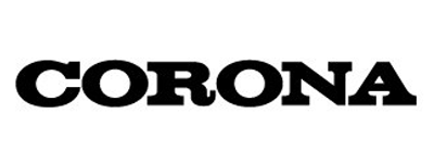 綾町エアコン取り付け屋さん:「コロナ(corona)のロゴ」の画像(イメージ)