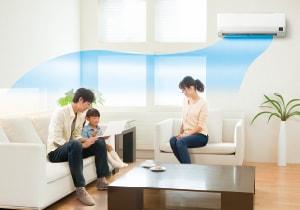 エアコン取り付け屋さん:「【コロナ】 エアコン Wシリーズ」冷房機能1の画像(イメージ)