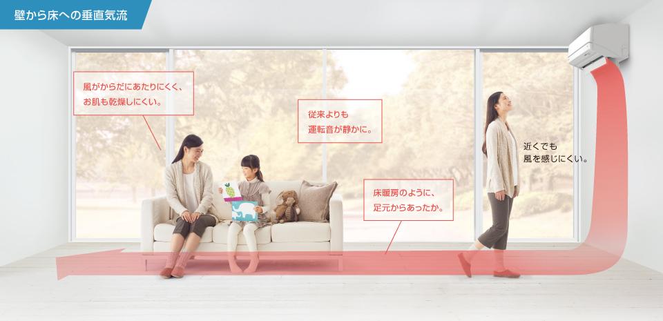エアコン取り付け屋さん:「【ダイキン】 エアコン Rシリーズ」Rシリーズの画像2(イメージ)