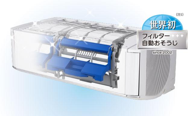 エアコン取り付け屋さん:「【富士通ゼネラル】 エアコン nocria(ノクリア) Xシリーズ」清潔機能の画像4(イメージ)