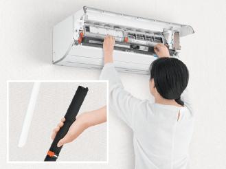 エアコン取り付け屋さん:「【パナソニック】 エアコン Eolia(エオリア) GXシリーズ」清潔機能の画像2(イメージ)